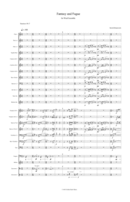 David Dolatowski - Fantasy and Fugue for Wind Ensemble