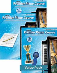 Dennis Alexander, Gayle Kowalchyk, E. L. Lancaster, Victoria McArthur, and Martha Mier - Premier Piano Course, Lesson, Theory & Performance 2A 2012 (Value Pack)