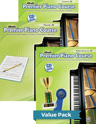 Dennis Alexander, Gayle Kowalchyk, E. L. Lancaster, Victoria McArthur, and Martha Mier - Premier Piano Course, Lesson, Theory & Performance 2B 2012 (Value Pack)