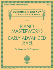 Various - Piano Masterworks - Early Advanced Level