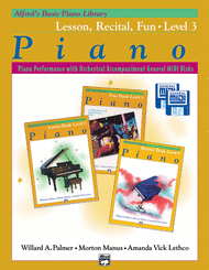 Willard A. Palmer - Alfred's Basic Piano Course General MIDI - Lesson, Recital & Fun Books Level 3