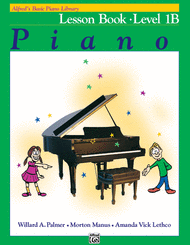 Willard A. Palmer - Alfred's Basic Piano Library Lesson Book, Book 1B