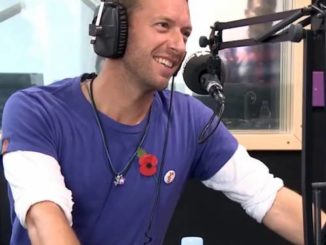 Chris Martin joked he 'forced' his kids to appear on his new song